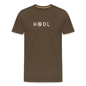 Hodle Steemit - Men's Premium T-Shirt