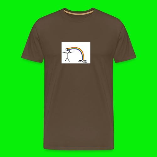 Me on rainbows - Men's Premium T-Shirt