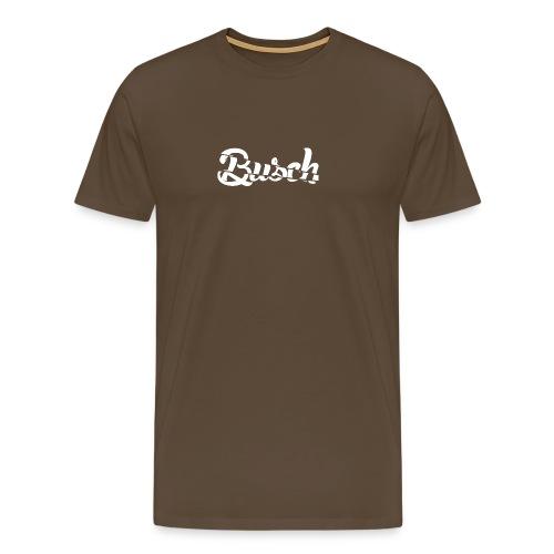 Busch shatter - Mannen Premium T-shirt