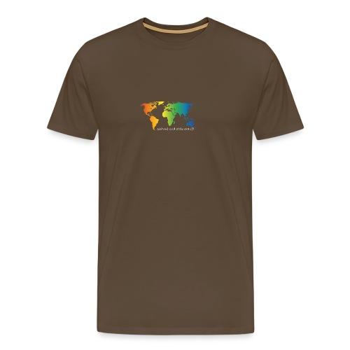 schwul und stolz drauf - Männer Premium T-Shirt