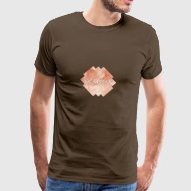 Tanska - Tanska - Miesten premium t-paita