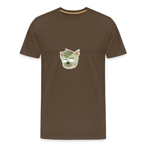 MineWolfs - Zombie-Wolf - Mearch - Männer Premium T-Shirt