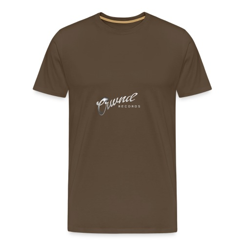 Crwnd Logo Paste - Men's Premium T-Shirt
