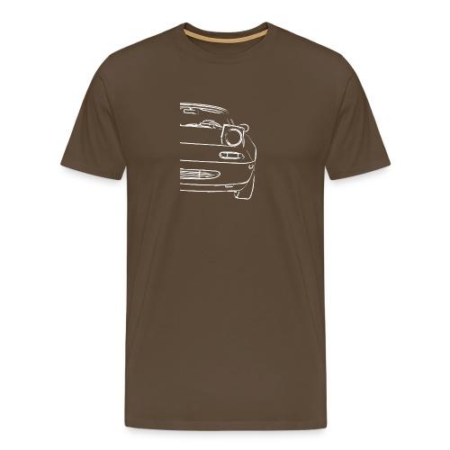 Auto Frontlinien für wahre Auto Fans - Männer Premium T-Shirt