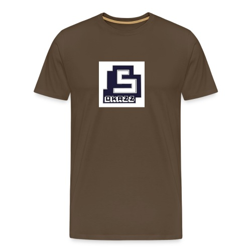 SOKAZZ LOGO - Premium T-skjorte for menn