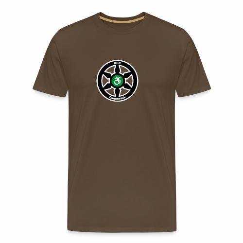 RSClogoRandweissDick - Männer Premium T-Shirt