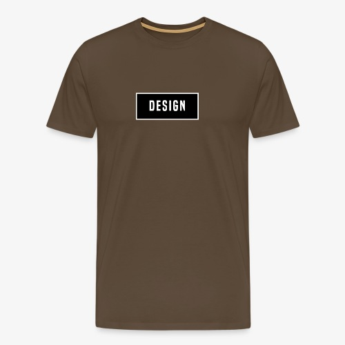 design logo - Mannen Premium T-shirt