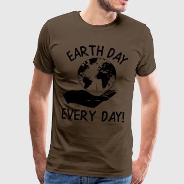 Earth Day Every Day Awareness - Männer Premium T-Shirt