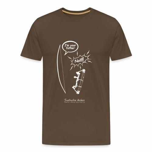 I am your father - Instinctive Archery - Men's Premium T-Shirt