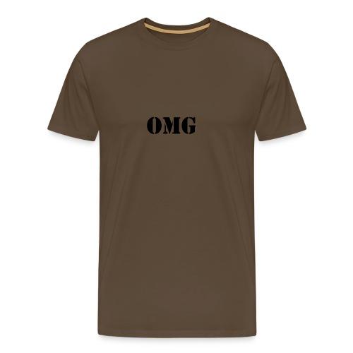 OMG - Camiseta Mujer - Camiseta premium hombre