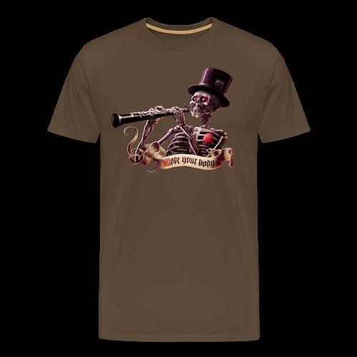 ¡Mueve el cuerpo! - Camiseta premium hombre