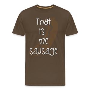 Das ist mir Wurst! - Männer Premium T-Shirt