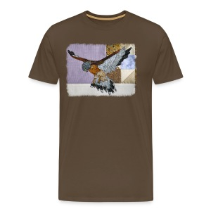 Lilac kestrel - Men's Premium T-Shirt