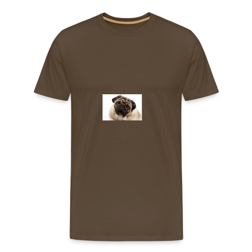 Best pug ever - Men's Premium T-Shirt