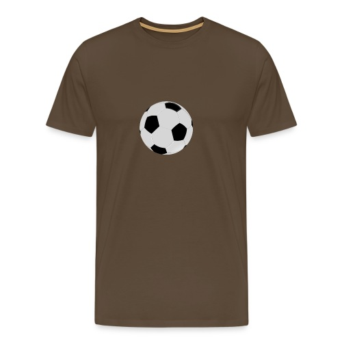 voetbal mok - Mannen Premium T-shirt