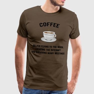 kawa - Koszulka męska Premium