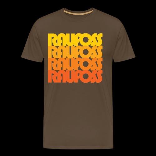 Raufoss - Premium T-skjorte for menn