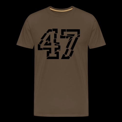 47 broken - Männer Premium T-Shirt