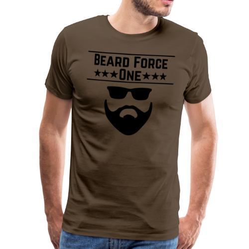 Beard Force One - Männer Premium T-Shirt