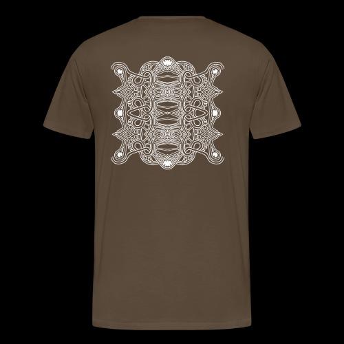 DOGLIFE 4 BLANC - T-shirt Premium Homme