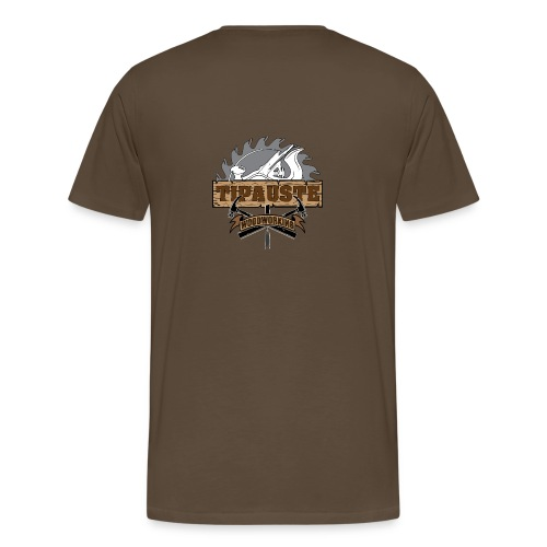 Logo Tipauste WoodWorking #1 - T-shirt Premium Homme