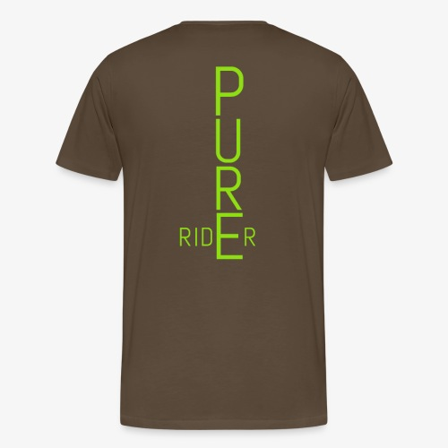 PURErider - Männer Premium T-Shirt