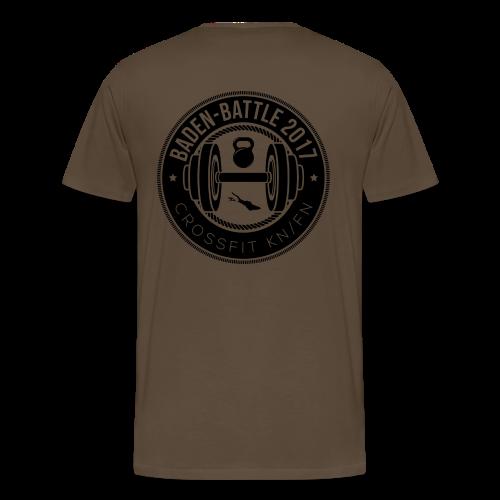 Crossfit Friedrichshafen / Konstanz Baden-Battle - Männer Premium T-Shirt