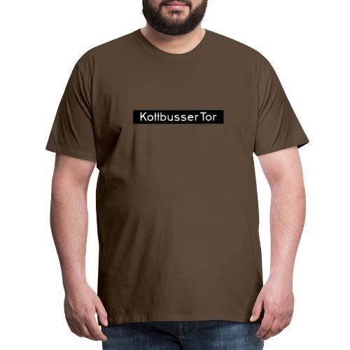 Kottbusser Tor KREUZBERG - Männer Premium T-Shirt