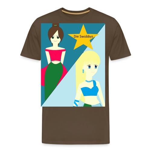 Buttons - Die Swobbys - Männer Premium T-Shirt