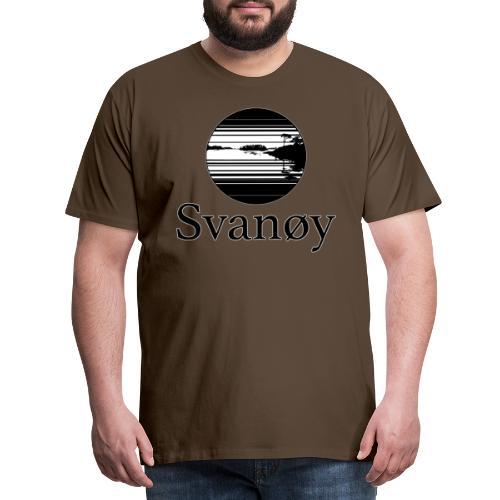 Fyrstikk - Premium T-skjorte for menn