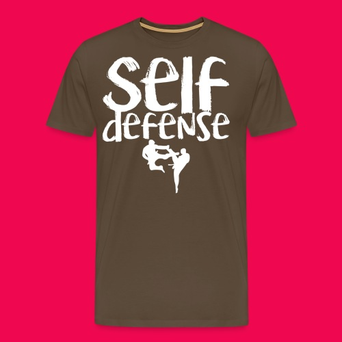 Self Defense 1.0 - Männer Premium T-Shirt