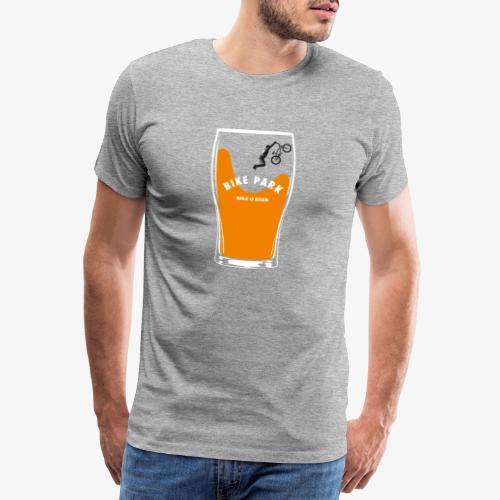 Beer Bike Park - T-shirt Premium Homme