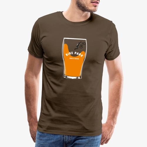 Beer Bike Park - T-shirt Premium Homme