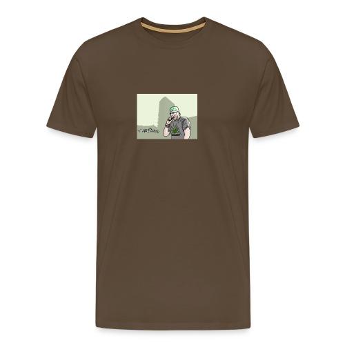 VAPE NATION!! *copyright' - Premium T-skjorte for menn