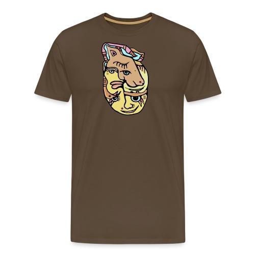 Unicake - Herre premium T-shirt