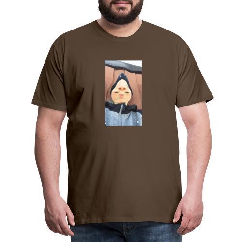 Nathalii är en näs-modell - Premium-T-shirt herr