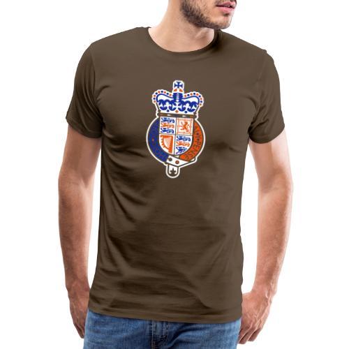 British Seal Pixellamb - Männer Premium T-Shirt