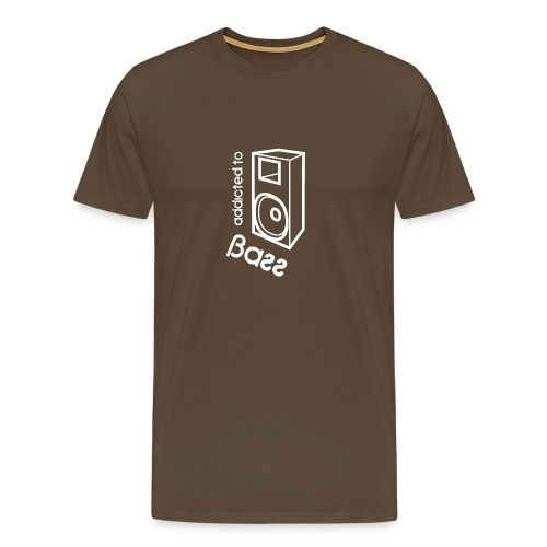 Addicted To Bass - Men's Premium T-Shirt