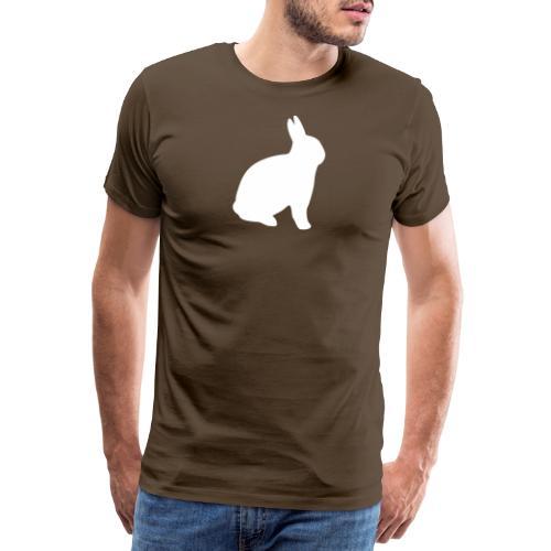 T-shirt personnalisable avec votre texte (lapin) - T-shirt Premium Homme