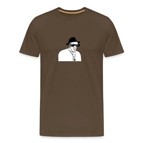 pope slaps woman meme - Maglietta Premium da uomo
