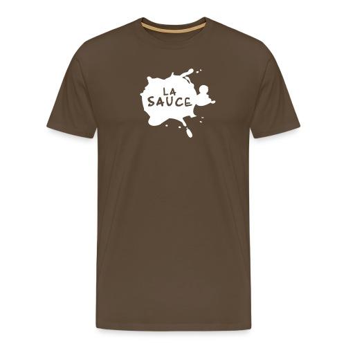 lasaucelogo blk - T-shirt Premium Homme