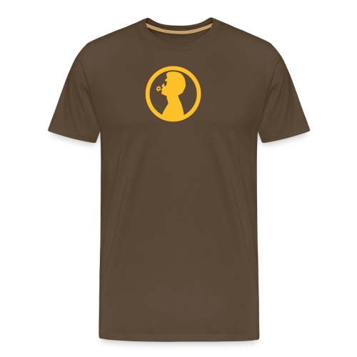 William White Flower logo - Men's Premium T-Shirt