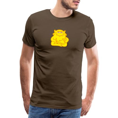 Happy Buddha - Männer Premium T-Shirt