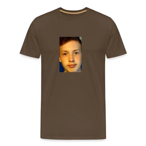Aron Deksel Galaxy S6 - Premium T-skjorte for menn