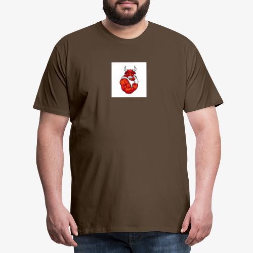 Bull taureau rouge red - T-shirt Premium Homme