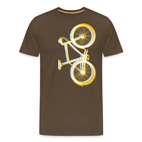Bike Fahrrad bicycle Outdoor Fun Retro Style - Men's Premium T-Shirt