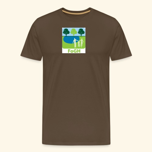 large icon fogh - Men's Premium T-Shirt