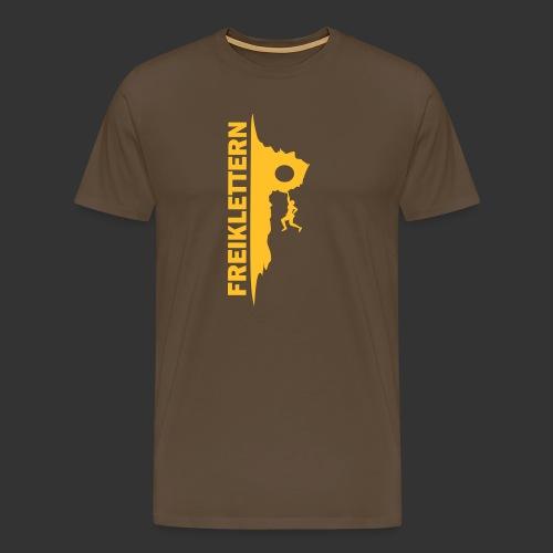 Freiklettern - Männer Premium T-Shirt