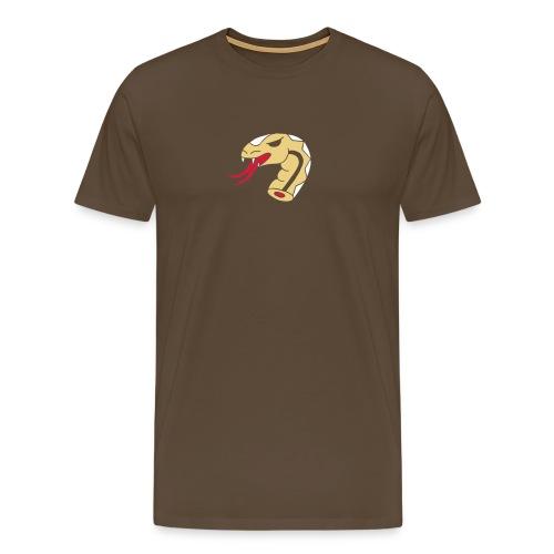 Schlangen Snakes Schlangenkopf Kopf Head Snakehead - Männer Premium T-Shirt