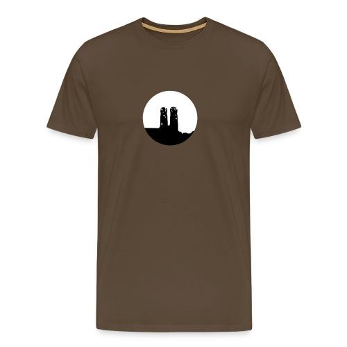 Munich / München / Frauenkirche München/ Logo - Camiseta premium hombre